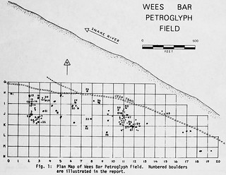Wees Bar petroglyph map*