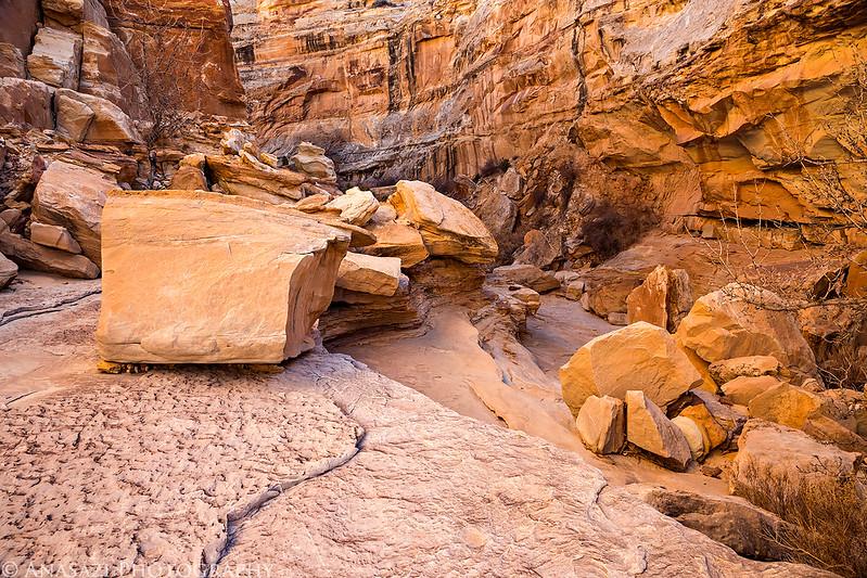 Boulder-Filled Canyon