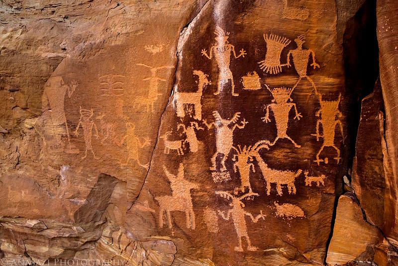 Dry Canyon Petroglyphs