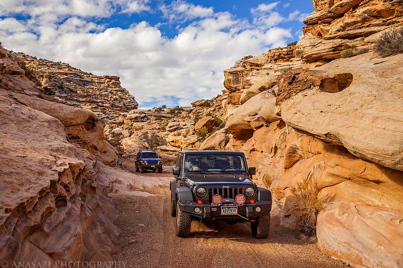 Canyon Driving