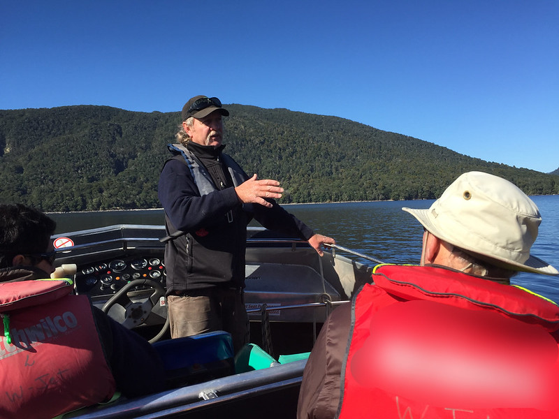 Wairaurahiri Jet adventure in Fiordland National Park - Local History