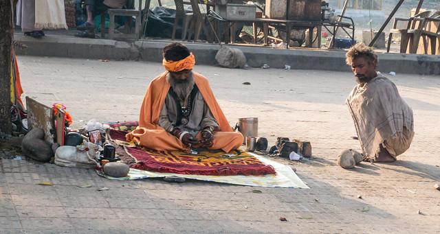 Holy Man in Haridwar on the Ganga