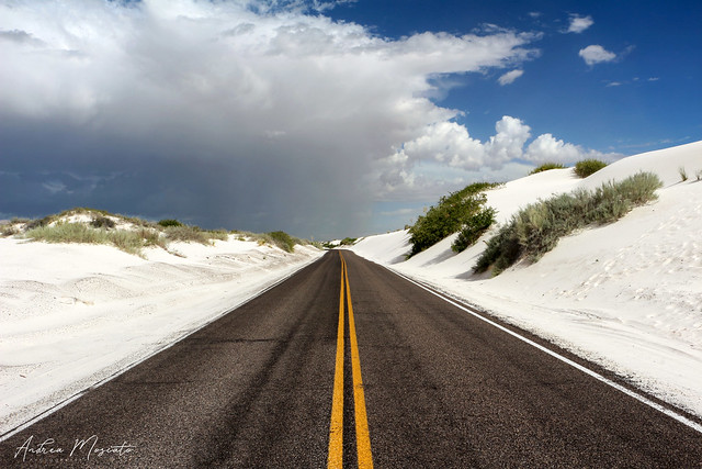 Dunes Drive, White Sands National Monument - New Mexico