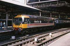 Class 47/4 no. 47609 FIRE FLY @ Newcastle, c.1988 [slide 8832]