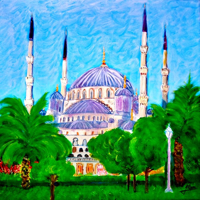 ISTAMBUL ,Mezquita de  Santa SOFIA,