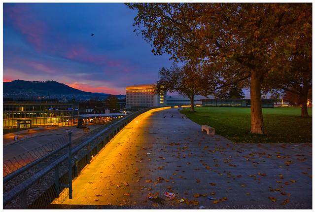Morning has broken on Bern. Switzerland. November 1, 2020. No. 42.