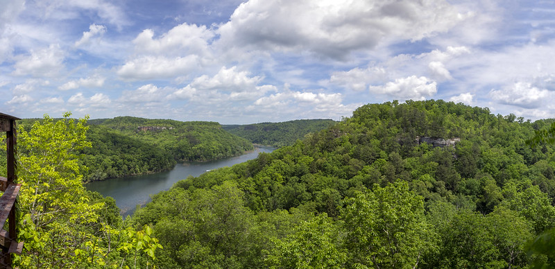 London Dock overlook, Rockcastle River, Daniel Boone National Forest, Laurel County, Kentucky 2