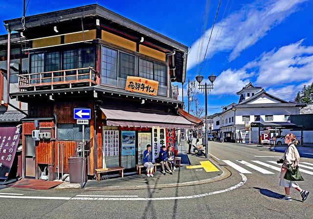 Japan 2015. Takayama. Street scene.