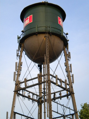 Water Tower now Cell Tower