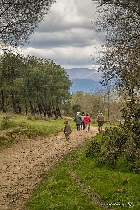 Paseo por los campos de La Adrada