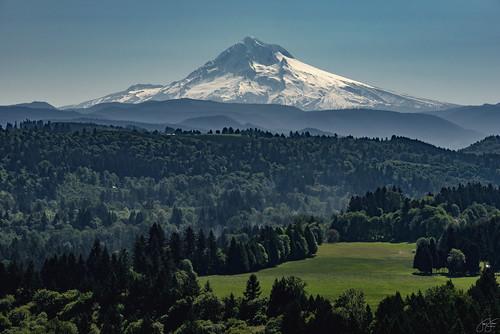 mountain snow oregon volcano mt sandy scenic mount d750 overlook viewpoint capped jonsrud