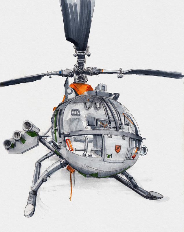 BO 105 PAH · Helicopter Museum Bückeburg