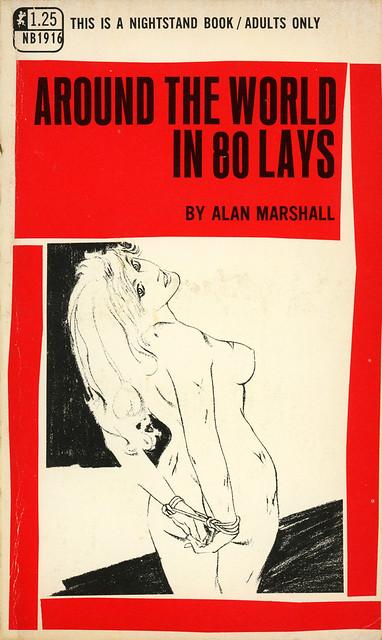 Nightstand Books NB1916 - Alan Marshall - Around the World in 80 Lays