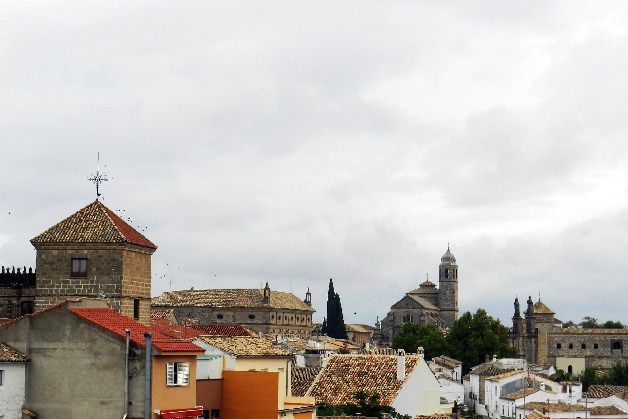Vista de Ubeda Sacra Capilla del Salvador Jaen Patrimonio de la Humanidad