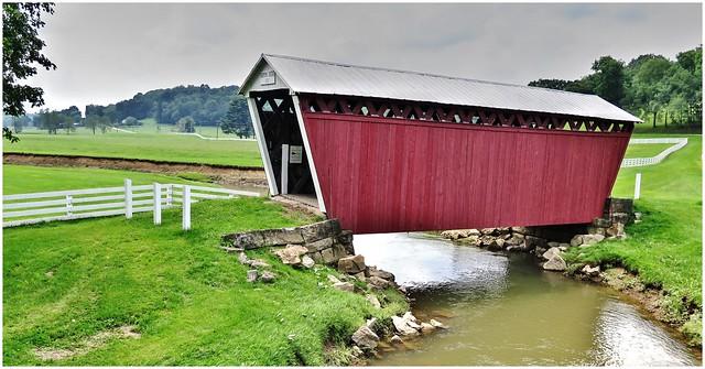 Harmon Covered Bridge @ Indiana County PA (HFF)