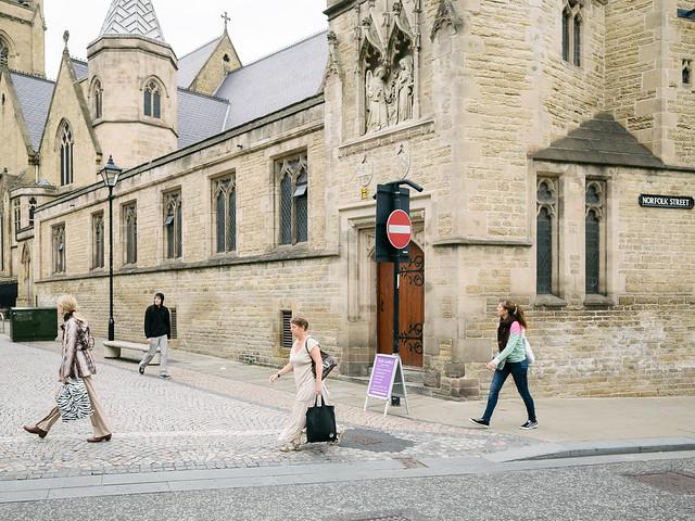 Norfolk Street and Norfolk Row, Sheffield