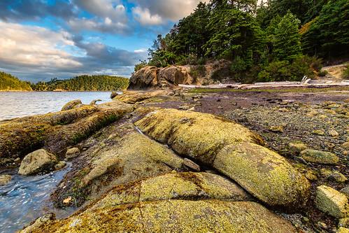 bay beach bellingham chuckanut clouds places salish sunrise teddybearcove water tides pnw pacific northwest landscape pacificnorthwest washington sea coastal