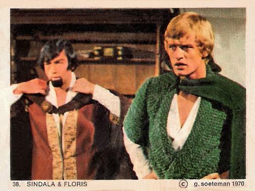 Jos Bergman and Rutger Hauer in Floris (1969)