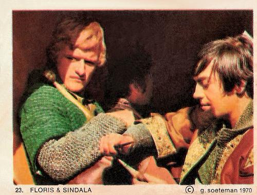 Rutger Hauer and Jos Bergman in Floris (1969)