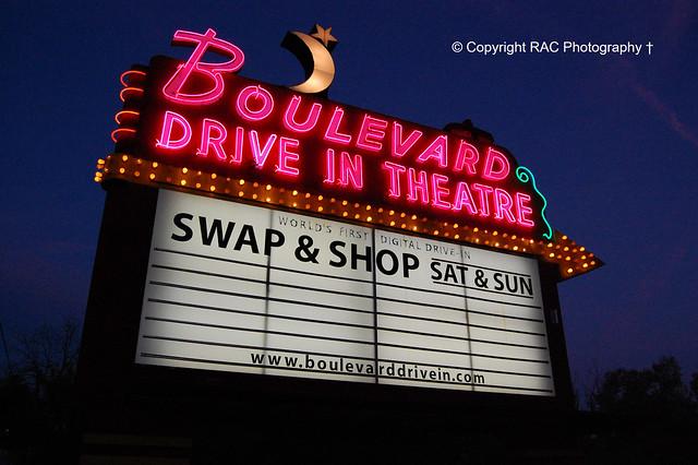 BOULEVARD Drive In Theatre - Kansas City Ks Open! Photo #2