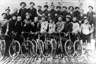 Vélo-club orgelétain avant 1914