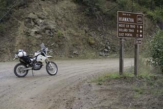Turn along Loop Creek
