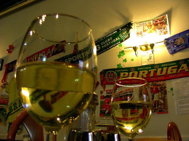 Vinho Bianco at the Casa Verde