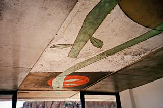 Silt-cast ceiling