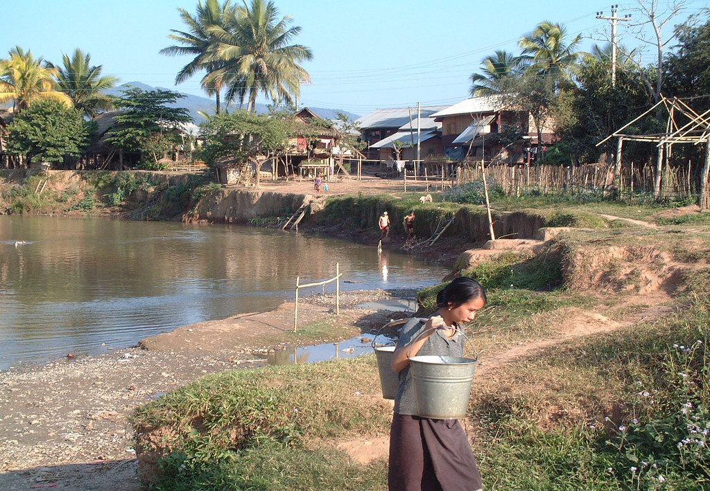 Luang Nam Tha, février 2006