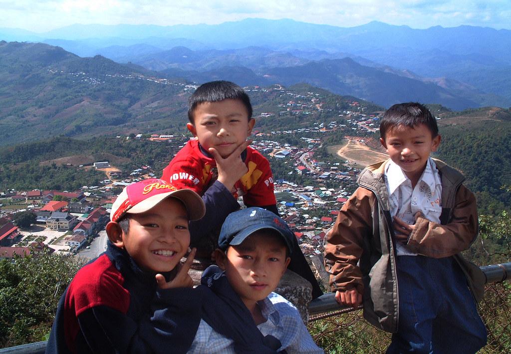Phongsali, février 2006