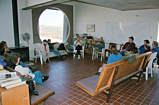 Discussion group featuring Paolo Soleri