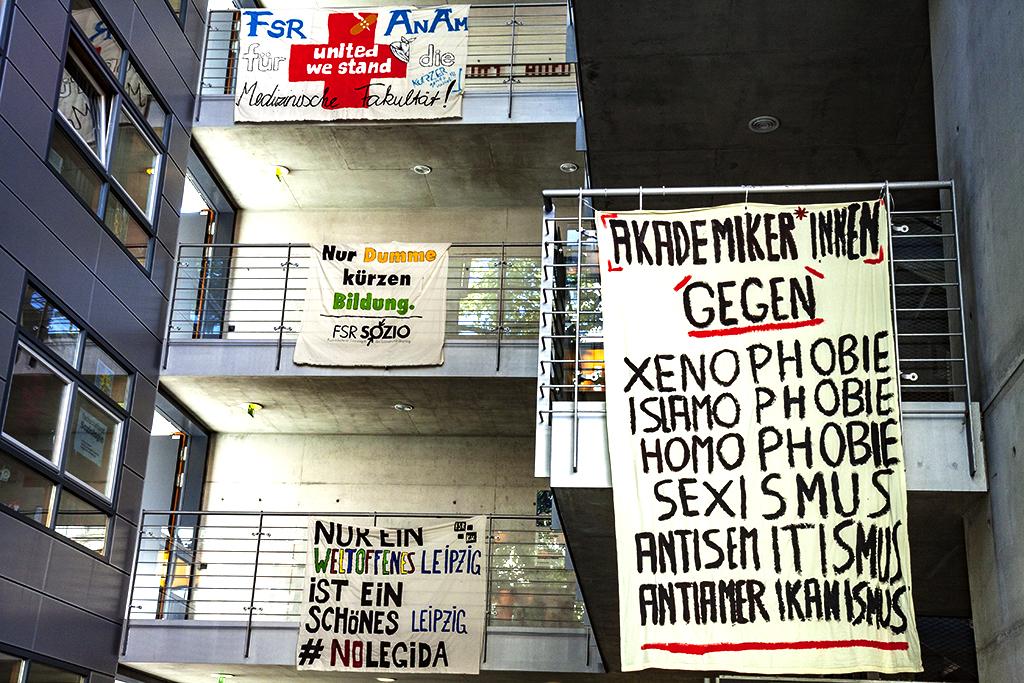 AKADEMIKER INNEN GEGEN XENOPHOBIE--Leipzig