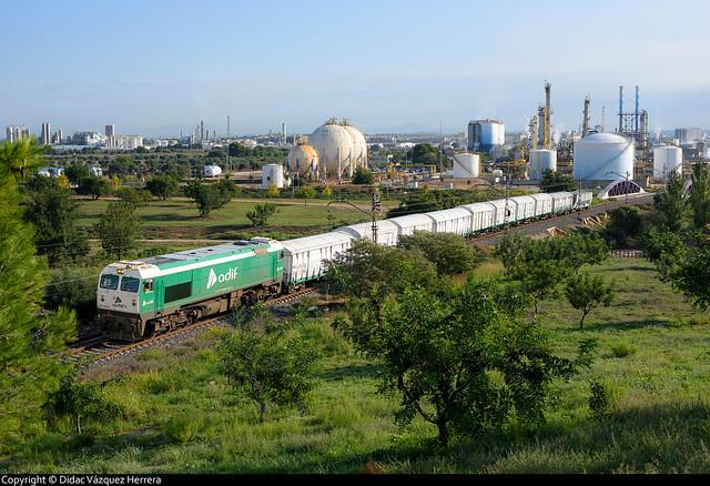 Tren de contraste de básculas en Vila-Seca