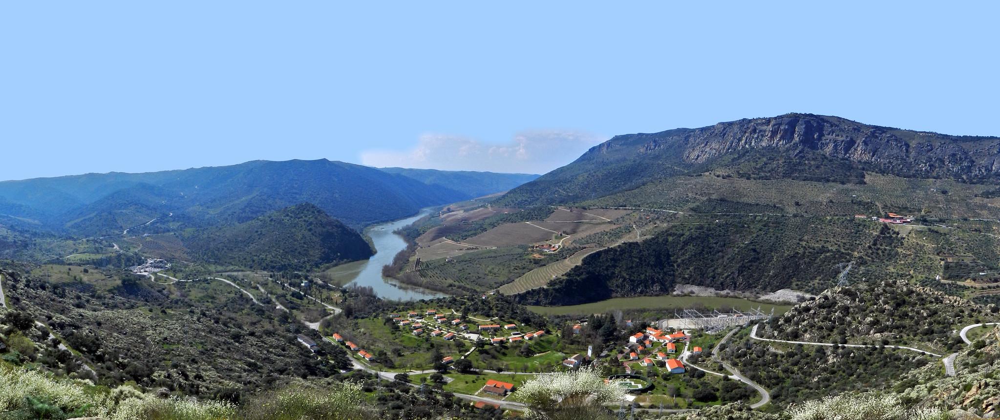 vista panorámica Arribes del Duero Salamanca