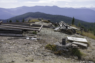 Huckleberry Lookout remains