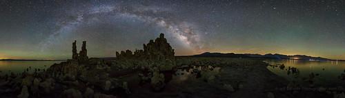 Mono Lake 360 Degree Milky Way Panorama