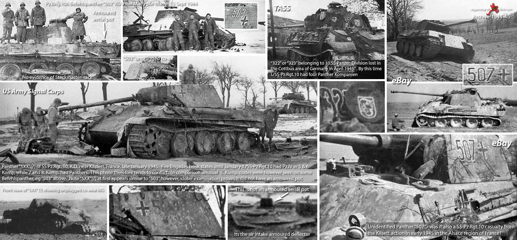 "10.SS Panzer-Division Panthers and an alternative theory for ""507"""