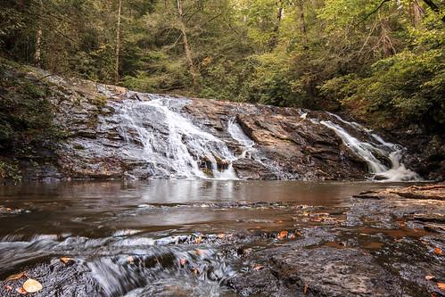 sc southcarolina walhalla creek mountains waterfall