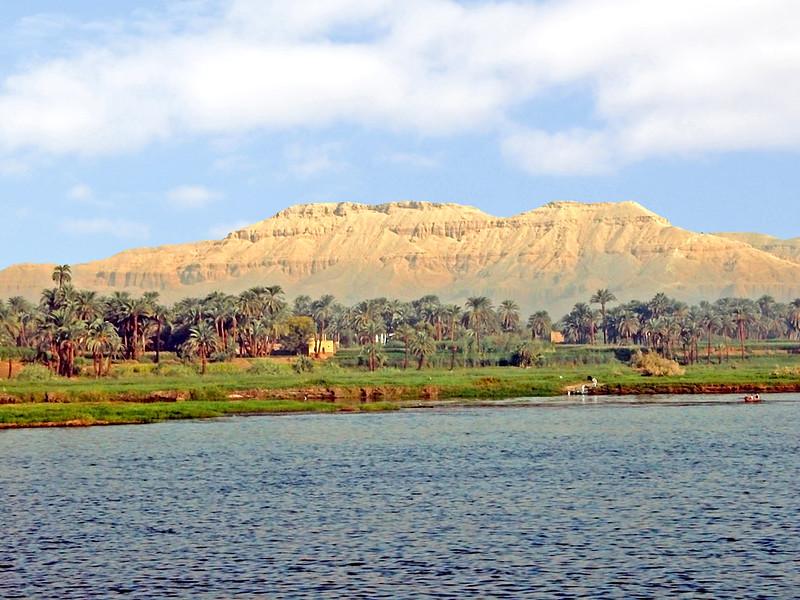 Egypt-3A-016 - Nile Scene