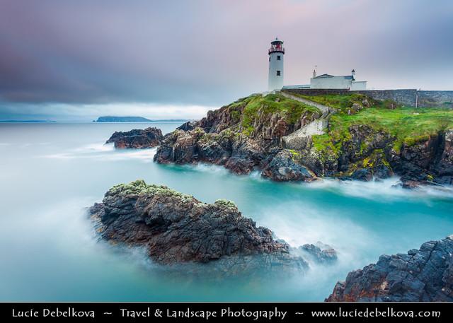 Ireland - North Donegal Coast - Fánaid - Fanad Head lighthouse