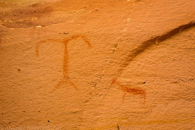 Faint Red Pictographs