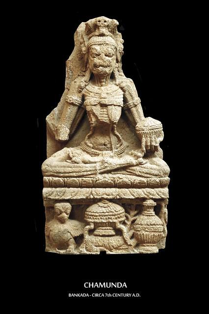 India - Odisha - Bhubaneswar - Odisha State Museum - Chamunda
