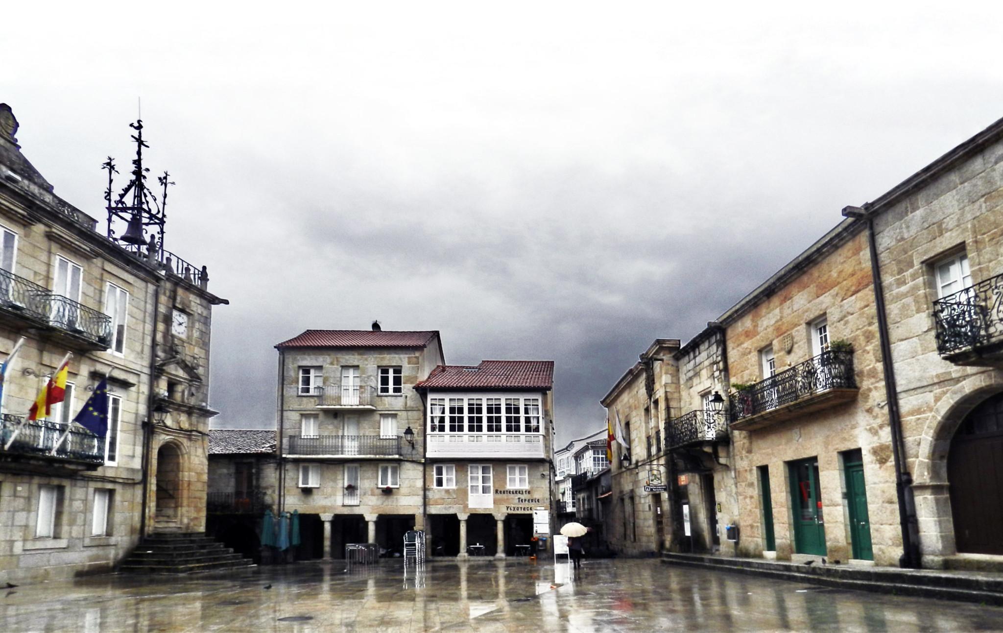 Ayuntamiento Plaza Mayor de Ribadavia Orense