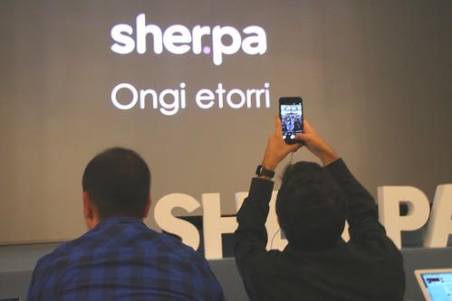 #SherpaKeynote 2015