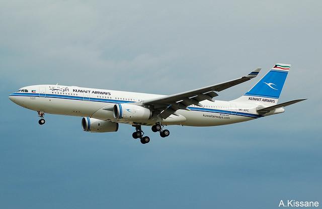 KUWAIT A/W A330 9K-APC