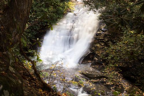 blueridge georgia seacreek autumn mountains waterfall