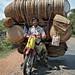 Rattan peddler. Along the Mekong. by flovision.net