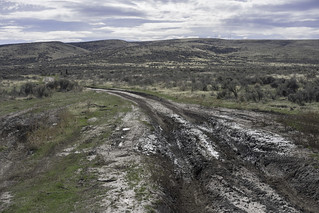 Mud on the Oregon Trail