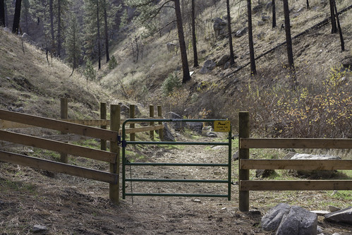 Willow Creek gate | by Trail Image