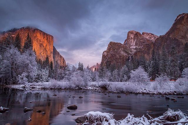 Gates of the Valley Winter Wonderland